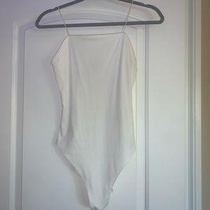 NWT White Bodysuit